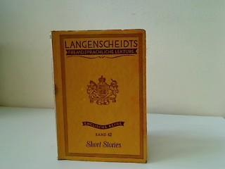 Short Stories Band 42, Langenscheidts fremdsprachliche Lektüre,: ohne Autor: