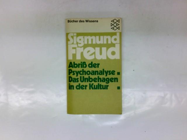 Abriss der Psychoanalyse: Freud, Sigmund:
