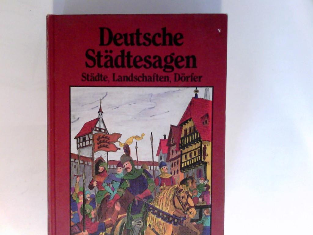 Deutsche Städtesagen : Sagen aus dt. Landschaften,: Petersdorf, Bodo von