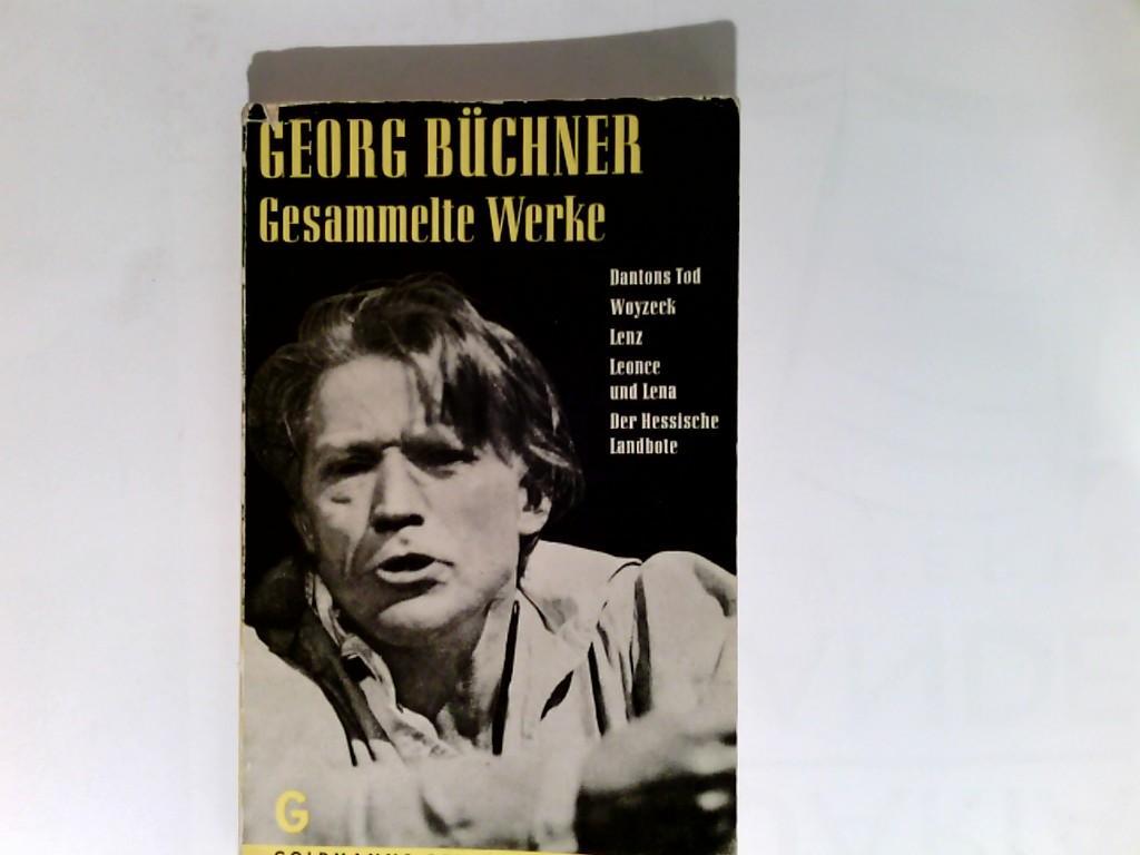 Gesammelte Werke.: Büchner, Georg:
