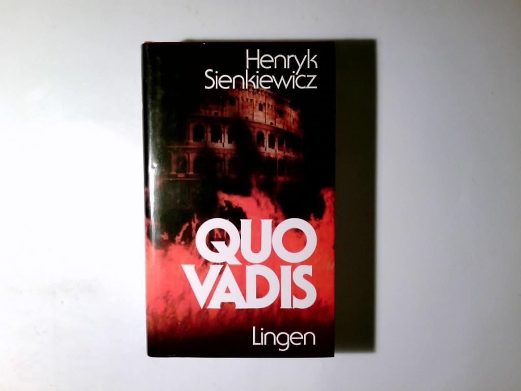 Quo vadis: Henryk Sienkiewicz: