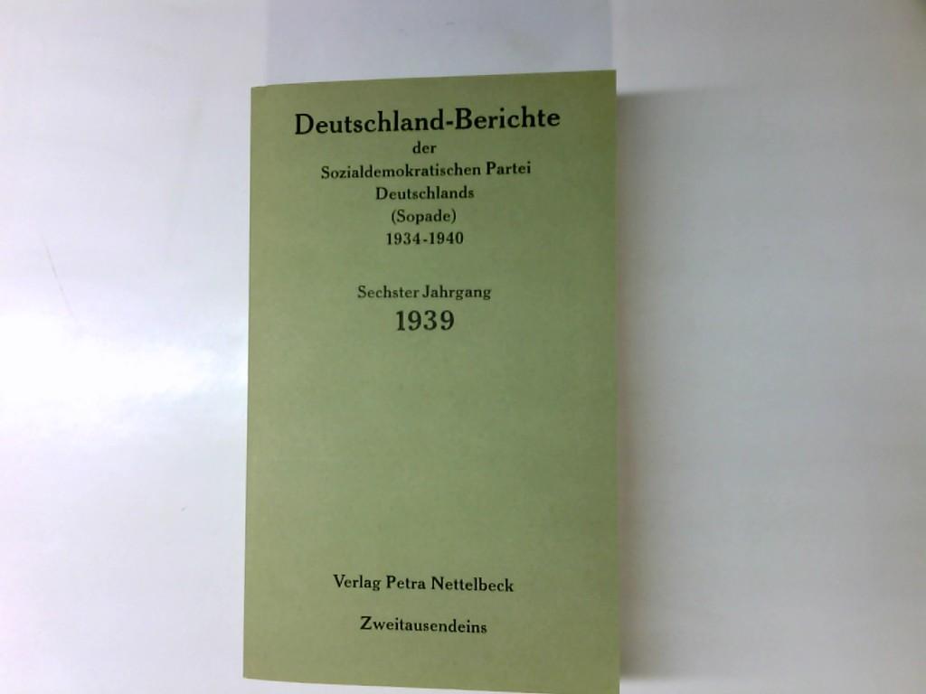 Deutschland-Berichte der Sozialdemokratischen Partei Deutschlands (Sopade)