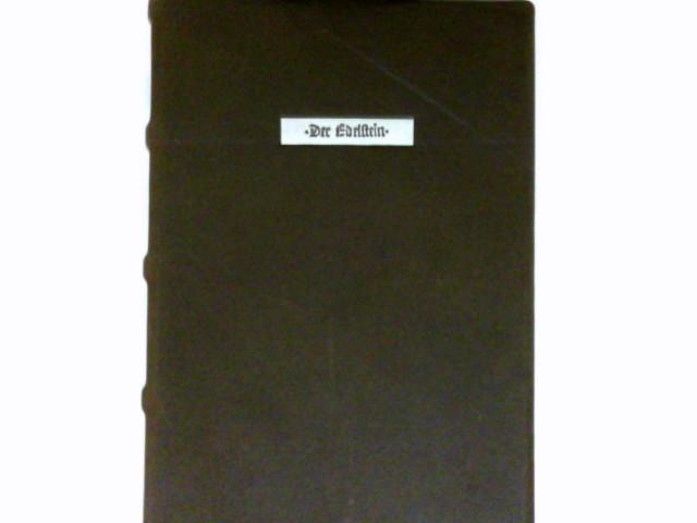 der edelstein 16 i eth 2o d herzog august bibliothek wolfenb ttel mit begleitbuch. Black Bedroom Furniture Sets. Home Design Ideas