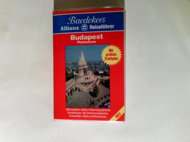 Budapest : Plattensee ; alle Sehenswürdigkeiten, Einkaufstips,: Linde, Helmut: