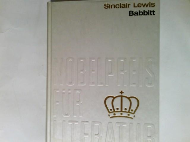 Babbitt Aus der Sammlung : Nobelpreis für: Lewis, Sinclair: