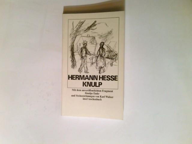 Knulp : 3 Geschichten aus d. Leben: Hesse, Hermann: