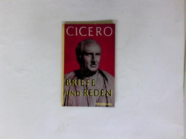 Briefe Von Cicero : Briefe und reden goldmanns gelbe taschenbücher von