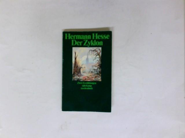Der Zyklon und Hans Dierlamms Lehrzeit : Hesse, Hermann: