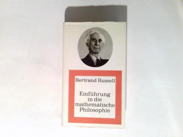 Einführung in die mathematische Philosophie: Russell, Bertrand: