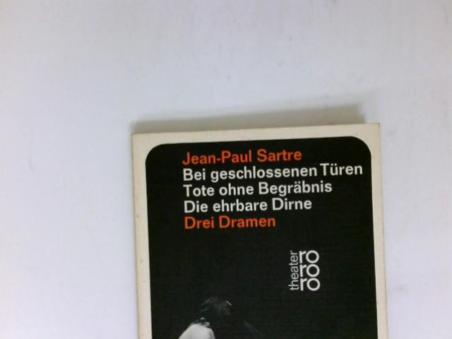 Bei geschlossenen Türen / Tote Ohne Begräbnis: Sartre, Jean-Paul: