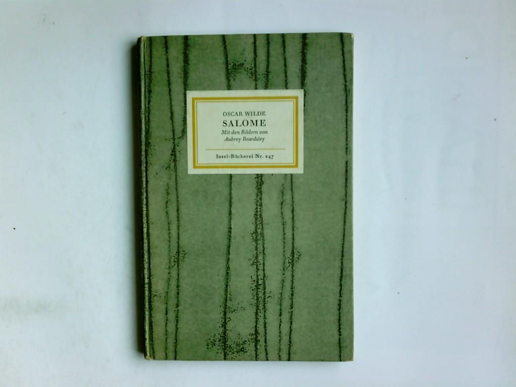 Salome : Tragödie in e. Akt. Übertr.: Wilde, Oscar und
