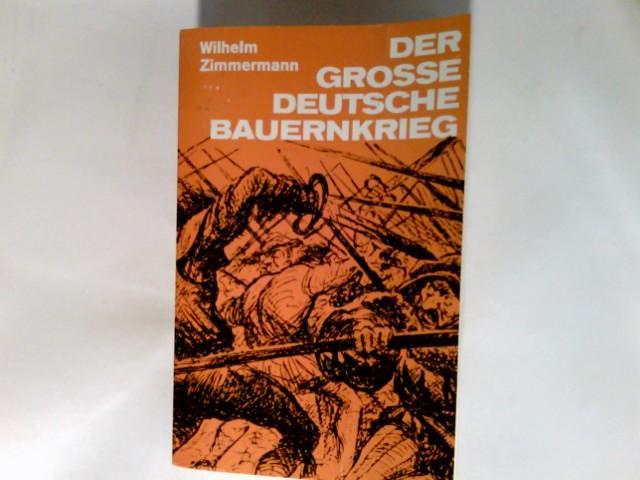 Der grosse deutsche Bauernkrieg: Zimmermann, Wilhelm: