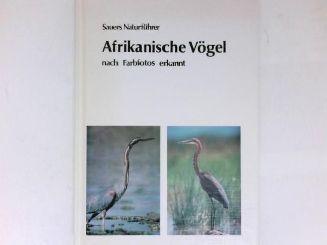 Afrikanische Vögel nach Farbfotos erkannt. von Sauer, Frieder ...