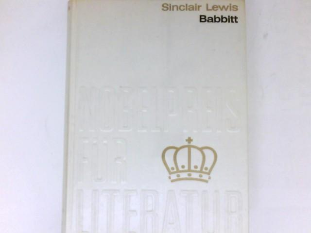 Babbitt : Roman. Übers. aus d. Amerikan.: Lewis, Sinclair:
