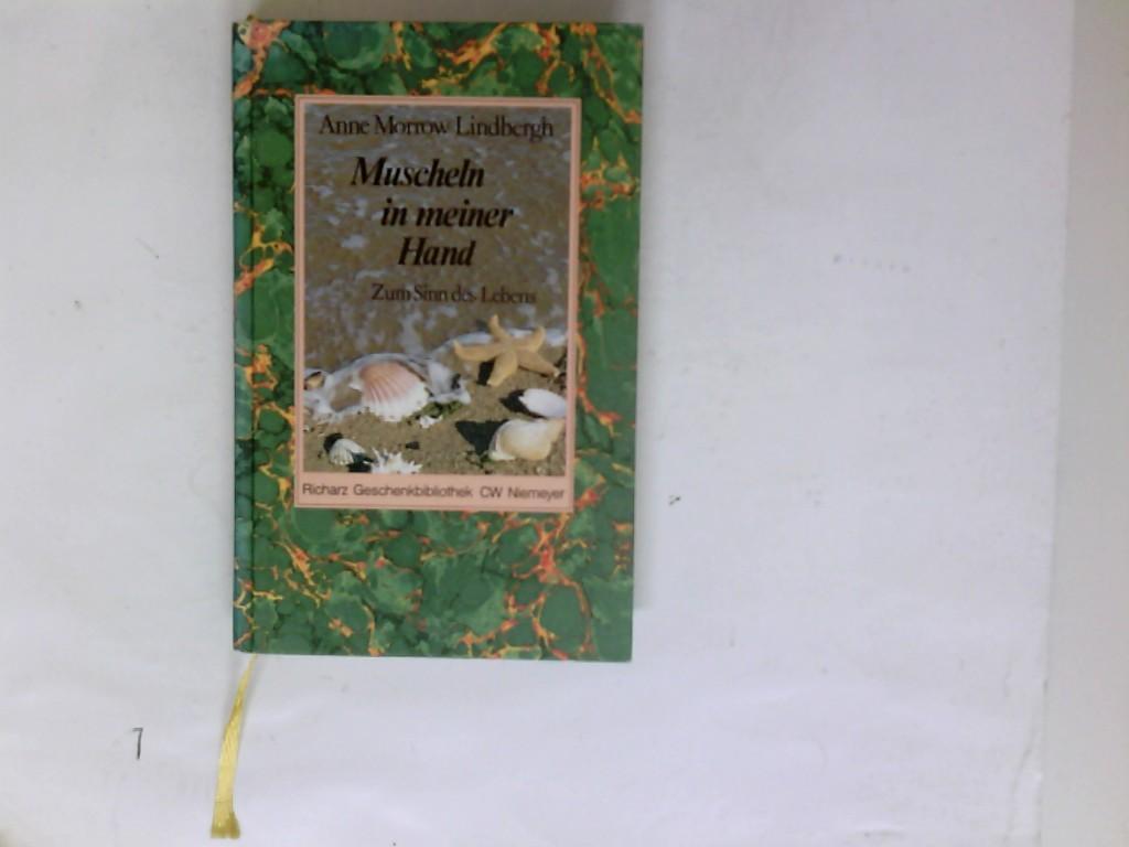 Muscheln In Meiner Hand Anne Morrow Lindbergh übers Von