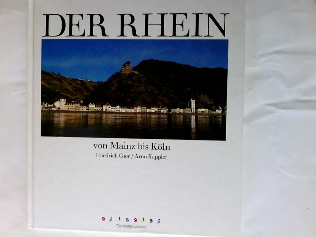 Der Rhein von Mainz bis Köln, Bildlegenden