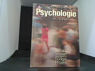 Psychologie die uns angeht .: Ueckert, Hans, Rainer