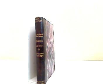Goethes Werke - 8.Band - Auswahl: Goethe: