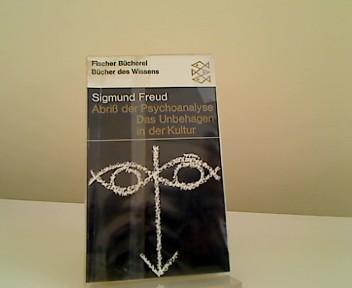 Abriss der Psychoanalyse.: Freud, Sigmund: