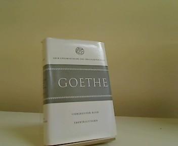 Übertragungen. (= Goethes Poetische Werke und Schriften.: Goethe, Johann Wolfgang