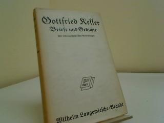 Briefe Und Gedichte Gottfried Keller Mit