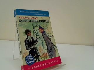 Königliche Hoheit : Roman. Mit Ill. von: Mann, Thomas: