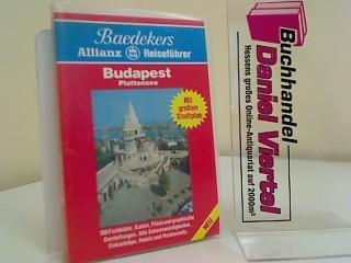 Budapest. Plattensee Baedekers Allianz Reiseführer (Mit großem: Linde, Helmut und