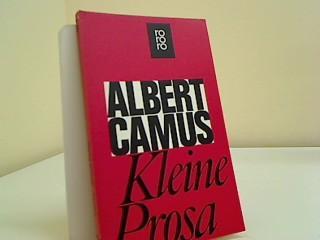 Kleine Prosa Rororo ; 441: Camus, Albert:
