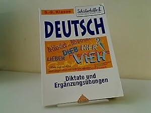 Deutsch Grammatik Diktate und Ergänzungsübungen Schülerhilfe 5.-6.: Schreiner, Kurt: