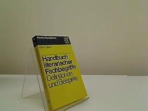 Handbuch literarischer Fachbegriffe : Definitionen u. Beisp.: Best, Otto F.:
