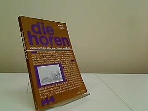 Die Horen : Zeitschrift für Literatur, Kunst: Morawietz, Kurt: