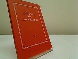 Festschrift für Carl Zuckmayer : zu seinem: Glauert-Hesse, Barbara: