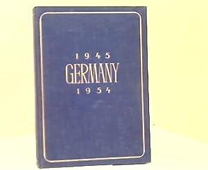 Germany 1945-1954.
