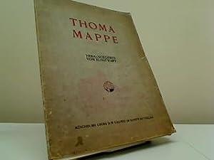 Thoma-Mappe, ,Hans Thoma, Zeichnungen, 26 Einzelblätter mit Farbbildern: Kunstwart: