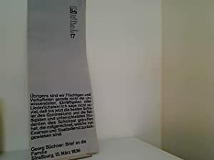 Luchterhands Loseblatt Lyrik. 17. Lieferung: Gedichte aus: Borchers, Elisabeth und