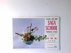 Saga School (Principal Styles) Ikebana Card Book