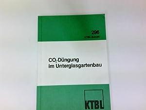 COung im Unterglasgartenbau : Ergebnisse e. Fachgesprächs