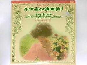 Jessel : Schwarzwaldmädel (musikalische Gesamtaufnahme) Vinyl LP: Jessel, Leon, Benno