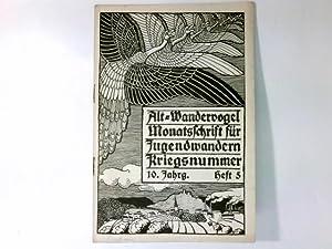 Alt-Wandervogel 5/1915 : Monatsschrift für Jugendwandern. Kriegsnummer.