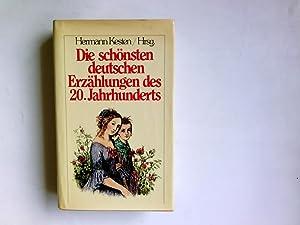 Die schönsten deutschen Erzählungen des 20. Jahrhunderts: Kesten, Hermann: