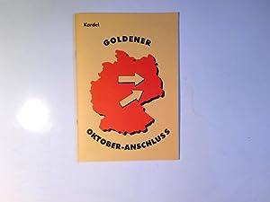 Goldener Oktober-Anschluss: kardel: