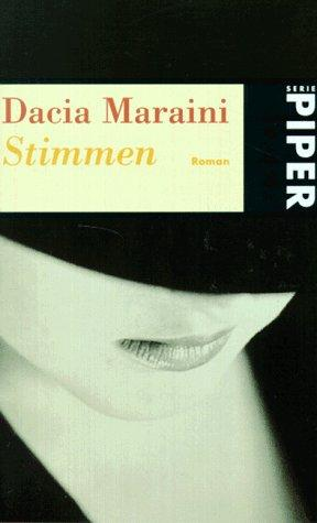voices by dacia maraini book Voces by dacia maraini, 9788493637712, available at book depository with free delivery worldwide.