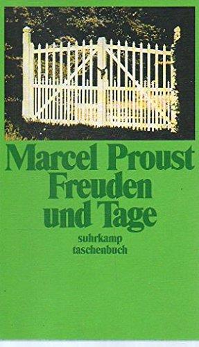 Freuden und Tage. Übertr. und hrsg. von: Proust, Marcel und