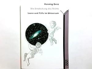 Die Entdeckung des Nichts : Leere und: Genz, Henning (Verfasser):