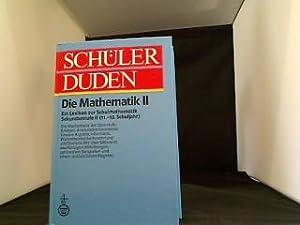 Schülerduden, Die Mathematik. - 2. [11. bis: Scheid, Harald: