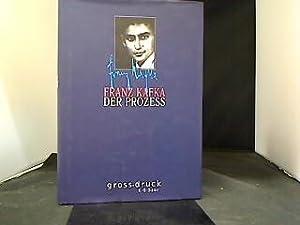 Der Prozess : Roman. gross.druck: Kafka, Franz: