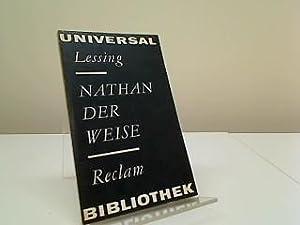 Nathan der Weise - Ein dramatisches Gedicht: Lessing, Gotthold Ephraim: