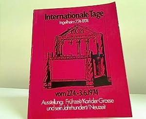 Ingelheim 774 - 1974 - Ausstellungen : Stadt Ingelheim: