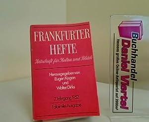 Frankfurter Hefte - Zeitschrift für Kultur und: Eugen Kogon und