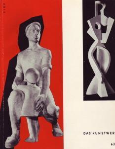 Das Kunstwerk - Eine Zeitschrift über alle: Zahn, Leopold: